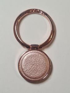 Držák Ring Leather Rose-gold