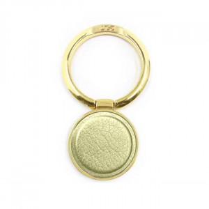 Držák Ring Leather Zlatý