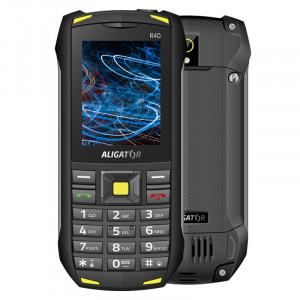 Aligator R40 eXtremo black/yellow AR40BY