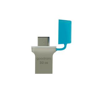 Goodram pendrive 32 GB USB 3.2 Gen 1 60 MB/s (rd) – 20 MB/s (wr) flash drive blue (ODD3-03