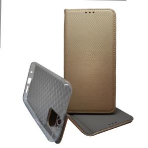 Pouzdro Smart Case Book pro Poco M3 Zlaté