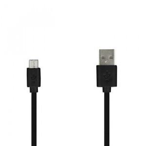 Usb kabel Micro USB 2 Metry Černý