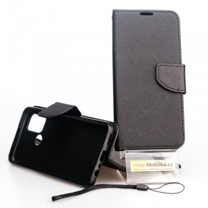 Fancy Book case - Realme 7i Černé