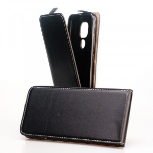 Pouzdro Forcell Slim Flip Flexi Motorola Moto E7 Plus Černé