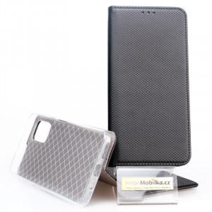 Pouzdro Smart Case Book Motorola G9 Plus Černé
