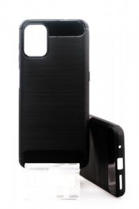 Pouzdro CARBON LUX Motorola G9 Plus Černé