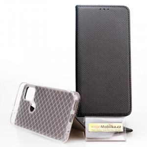 Pouzdro Smart Case Book Motorola G30 Černé