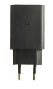 SA18C79899 Motorola USB 30W Cestovní nabíječka Black (Service Pack)