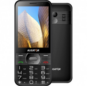 ALIGATOR A900 Senior černý A900B