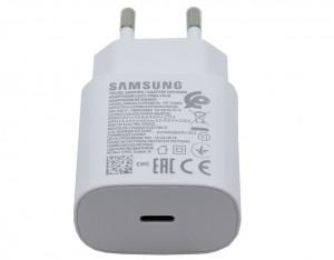 EP-TA800EWE Samsung USB-C Cestovní nabíječka White (OOB Bulk)