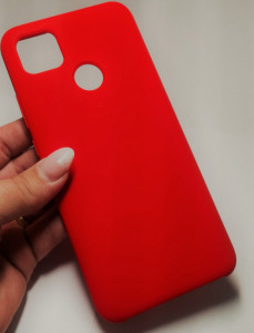 Vennus case Silicone Lite Xiaomi Redmi 9C Červené