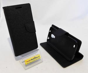 Pouzdro Goospery Mercury Fancy Diary Samsung i9505 Galaxy S4 černé