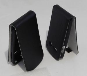 Pouzdro ForCell Slim Flip Flexi ALCATEL POP C3 černé