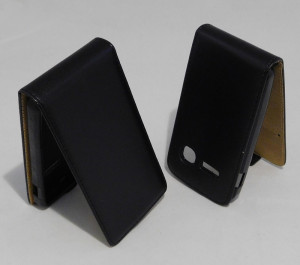 Pouzdro Forcell Slim Flip Flexi Alcatel One Touch S pop 4030D Černé