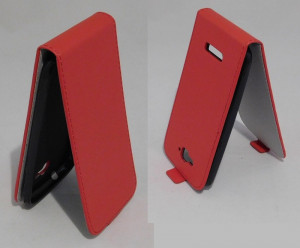Pouzdro ForCell Slim Flip Flexi ALCATEL POP C7 Červené