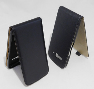 Pouzdro ForCell Slim flip flexi Alcatel 7047D One Touch Pop C9 Černé