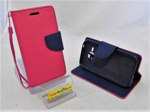 Pouzdro TEL1 Fancy Diary Samsung Galaxy J1 J100 Růžové