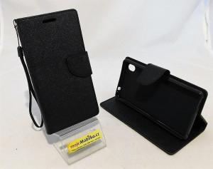 Pouzdro Flip Fancy Diary Sony Xperia M4 Aqua E2303 černá
