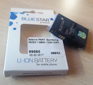 Blue Star Premium baterie Samsung S5230 Avila/G800 1050 mAh - neoriginální