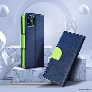 Pouzdro Fancy Book - ASUS Zenfone 3 ZE552KL Modré