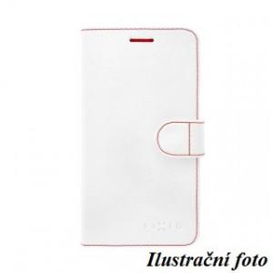 Pouzdro typu kniha FIXED FIT pro ALCATEL POP 4 5051D, bílé
