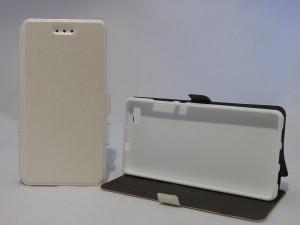 Pouzdro Book Flexi Pocket Huawei P8 Lite Bílé
