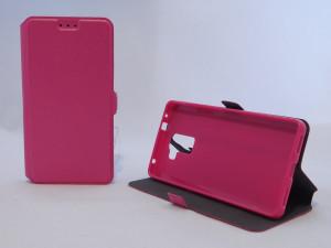 Pouzdro Book Flexi Pocket Honor 7 Lite Růžové