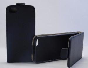 Pouzdro ForCell Slim Flip Flexi iPhone 5 iphone 5s černé