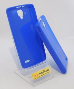 Pouzdro Jelly Case pro Lenovo A536 Modré