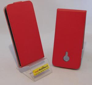 Pouzdro Forcell Slim Flip flexi Meizu MX5 Červené
