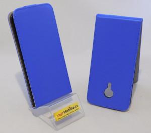 Pouzdro Forcell Slim Flip flexi Meizu MX5 Tmavě Modré