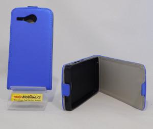 Pouzdro Forcell Slim Flip flexi Acer Z520 Tmavě Modré