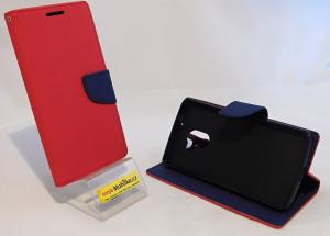 Pouzdro TEL1 Fancy Diary Lenovo A7010 Červené