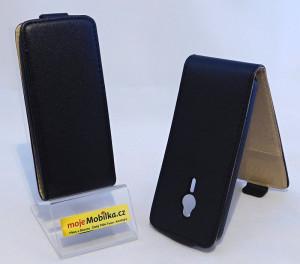 Sligo Plus flipové pouzdro pro Nokia 230, 230 Dual Sim černá (black)