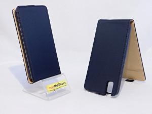 Pouzdro ForCell Slim Flip Huawei Honor 8 Flexi Černé