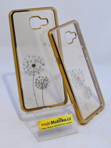 Pouzdro Diamonds TPU Samsung Galaxy A5 A510 2016 Pampeliška