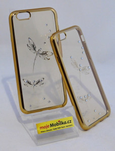 Pouzdro Diamonds TPU Iphone 6 Motýl