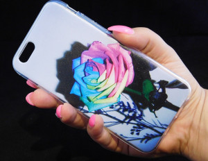 Pouzdro TPU Design Iphone 6 Rose