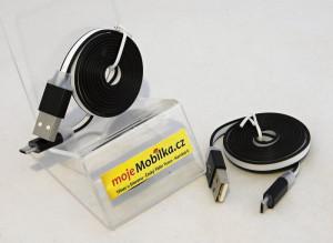 PC Kabel Slim Micro Usb Černý
