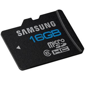 Samsung microSDHC Basic 16GB Class 6 MB-MA16D/EU