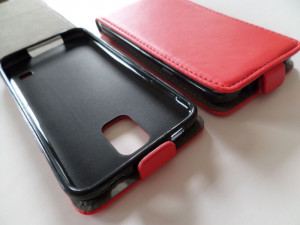 Pouzdro Forcell Slim Flip 2 flexi Microsoft Lumia 535 Červené