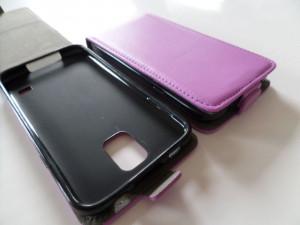 Pouzdro Forcell Slim Flip 2 flexi Microsoft Lumia 535 Fialové