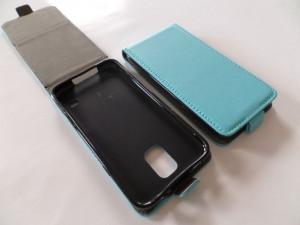 Pouzdro Forcell Slim Flip 2 flexi Microsoft Lumia 535 Světle Modré