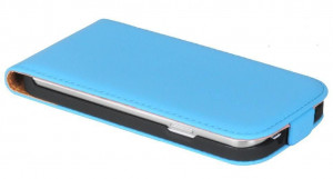 Pouzdro ForCell Slim Flip Nokia Lumia 730 735 Světle modré