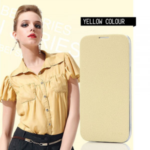 Pouzdro BEI Samsung Galaxy S4 i9505/i9500 Žluté