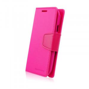 Pouzdro Sonata Goospery Leather Flip LG G3 Mini Růžové
