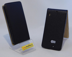 Pouzdro ForCell Slim Flip Flexi NOKIA Lumia 930 černé