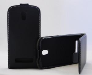 Pouzdro ForCell Slim Flip Flexi HTC Desire 500 černé