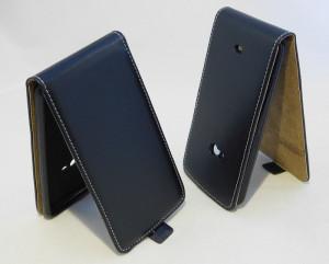 Pouzdro Forcell Slim Flip Flexi Nokia Lumia 625 Černé