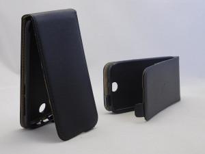 Pouzdro ForCell Slim Flip Flexi HTC Desire 310 černé